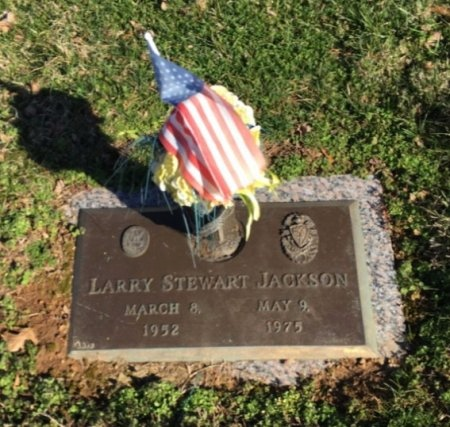 JACKSON, LARRY STEWART - Davidson County, Tennessee   LARRY STEWART JACKSON - Tennessee Gravestone Photos