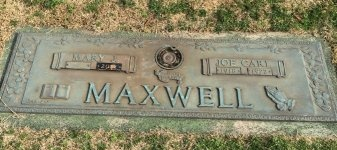 MAXWELL, MARY J. - Davidson County, Tennessee | MARY J. MAXWELL - Tennessee Gravestone Photos