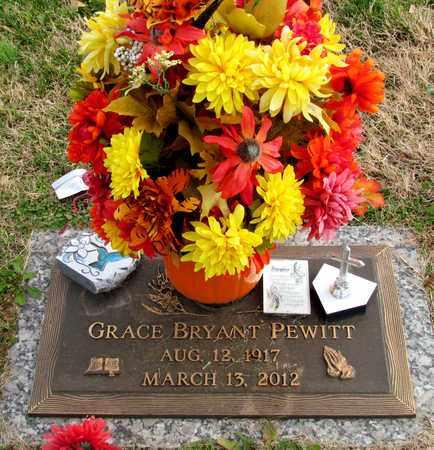 BRYANT PEWITT, GRACE - Davidson County, Tennessee | GRACE BRYANT PEWITT - Tennessee Gravestone Photos