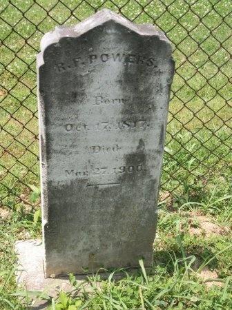 POWERS, ROBERT F. - Davidson County, Tennessee | ROBERT F. POWERS - Tennessee Gravestone Photos