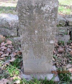 REAGIN, JOHN ANDREW - Davidson County, Tennessee | JOHN ANDREW REAGIN - Tennessee Gravestone Photos