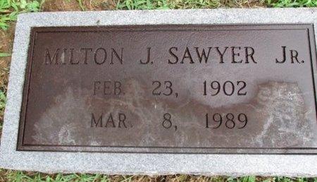 SAWYER, JR., MILTON J. - Davidson County, Tennessee | MILTON J. SAWYER, JR. - Tennessee Gravestone Photos