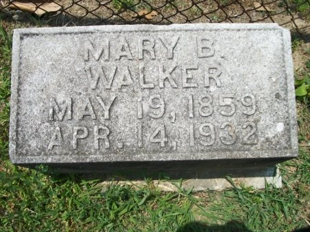WALKER, MARY B. - Davidson County, Tennessee | MARY B. WALKER - Tennessee Gravestone Photos