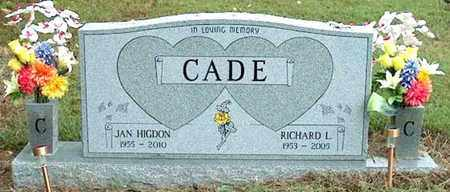 CADE, JAN - DeKalb County, Tennessee | JAN CADE - Tennessee Gravestone Photos