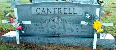 TAYLOR CANTRELL, CLARA - DeKalb County, Tennessee | CLARA TAYLOR CANTRELL - Tennessee Gravestone Photos