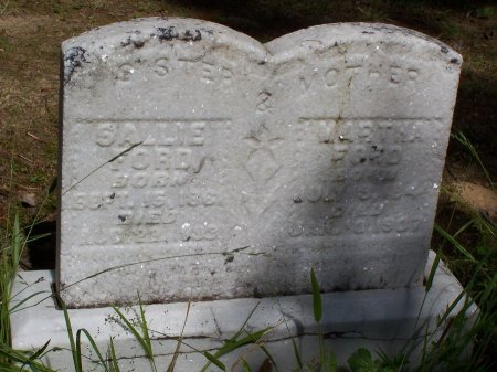 FORD, SALLIE - DeKalb County, Tennessee   SALLIE FORD - Tennessee Gravestone Photos