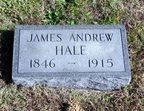 HALE, JAMES ANDREW - Decatur County, Tennessee | JAMES ANDREW HALE - Tennessee Gravestone Photos