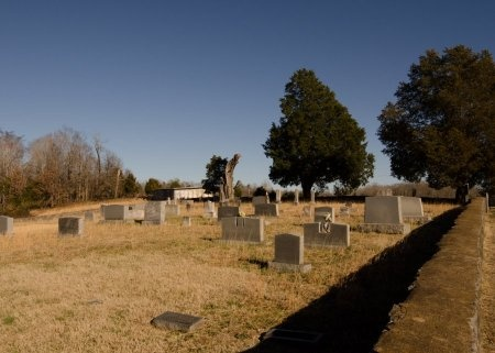 *CEMETERY VIEW,  - Dickson County, Tennessee |  *CEMETERY VIEW - Tennessee Gravestone Photos