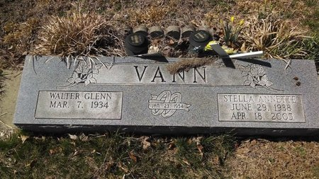 KNIGHT VANN, STELLA ANNETTE - Dickson County, Tennessee | STELLA ANNETTE KNIGHT VANN - Tennessee Gravestone Photos