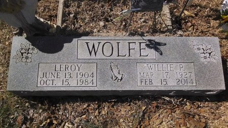 SELF WOLFE, WILLIE PEARL - Dickson County, Tennessee | WILLIE PEARL SELF WOLFE - Tennessee Gravestone Photos