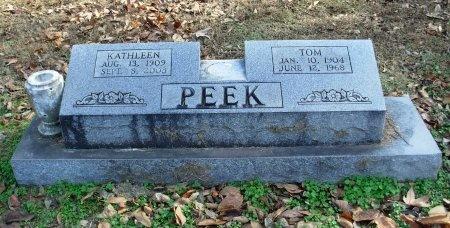 PEEK, KATHLEEN - Dyer County, Tennessee | KATHLEEN PEEK - Tennessee Gravestone Photos