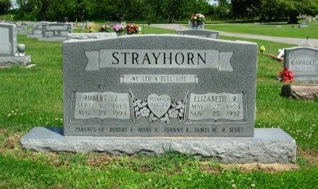 STRAYHORN, ELIZABETH RUTH - Dyer County, Tennessee   ELIZABETH RUTH STRAYHORN - Tennessee Gravestone Photos