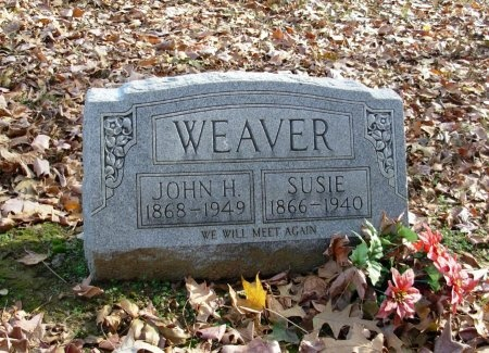 WEAVER, SUSIE - Dyer County, Tennessee | SUSIE WEAVER - Tennessee Gravestone Photos