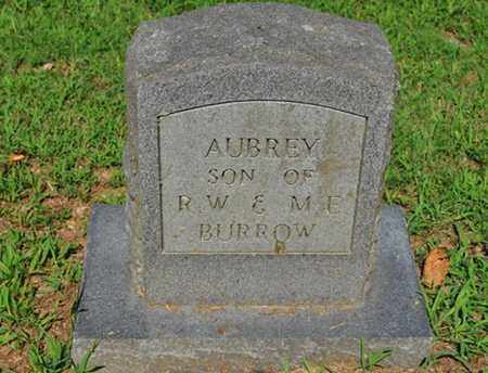 BURROW, AUBREY - Fayette County, Tennessee   AUBREY BURROW - Tennessee Gravestone Photos