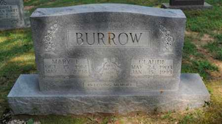 BURROW, MARY F. - Fayette County, Tennessee   MARY F. BURROW - Tennessee Gravestone Photos