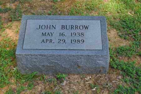 BURROW, JOHN - Fayette County, Tennessee   JOHN BURROW - Tennessee Gravestone Photos