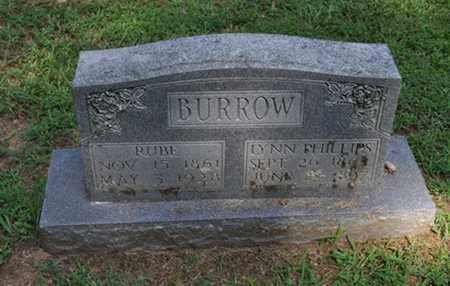 BURROW, LYNN - Fayette County, Tennessee   LYNN BURROW - Tennessee Gravestone Photos