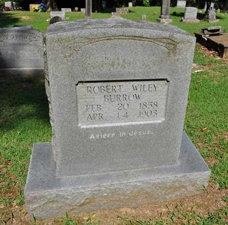 BURROW, ROBERT WILEY - Fayette County, Tennessee | ROBERT WILEY BURROW - Tennessee Gravestone Photos
