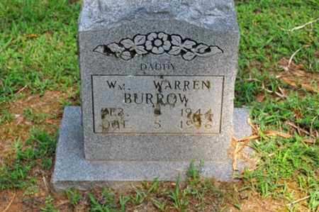 BURROW, WILLIAM WARREN - Fayette County, Tennessee | WILLIAM WARREN BURROW - Tennessee Gravestone Photos