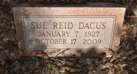 DACUS, SUE REID - Fayette County, Tennessee | SUE REID DACUS - Tennessee Gravestone Photos