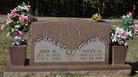 IVY, JOHN HOWARD - Fayette County, Tennessee | JOHN HOWARD IVY - Tennessee Gravestone Photos