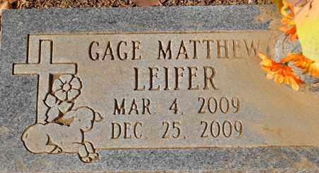 LEIFER, GAGE MATTHEW - Fayette County, Tennessee | GAGE MATTHEW LEIFER - Tennessee Gravestone Photos