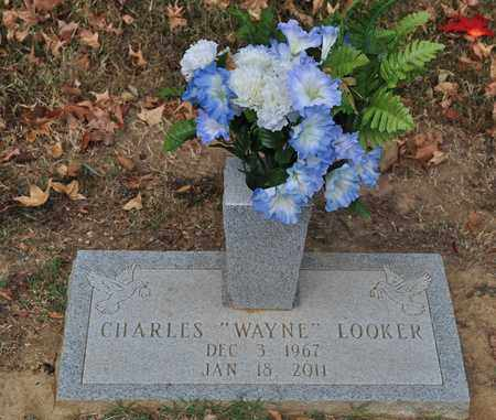 """LOOKER, CHARLES """"WAYNE"""" - Fayette County, Tennessee   CHARLES """"WAYNE"""" LOOKER - Tennessee Gravestone Photos"""