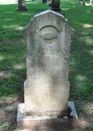 MCKNIGHT, T R - Fayette County, Tennessee | T R MCKNIGHT - Tennessee Gravestone Photos