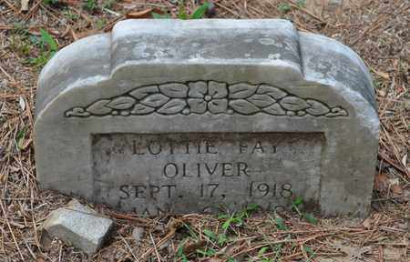 OLIVER, LOTTIE FAY - Fayette County, Tennessee | LOTTIE FAY OLIVER - Tennessee Gravestone Photos