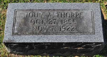 THORPE, JOHN A. - Fayette County, Tennessee | JOHN A. THORPE - Tennessee Gravestone Photos