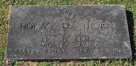 THORPE  (VETERAN WWI), HORACE LEE - Fayette County, Tennessee | HORACE LEE THORPE  (VETERAN WWI) - Tennessee Gravestone Photos