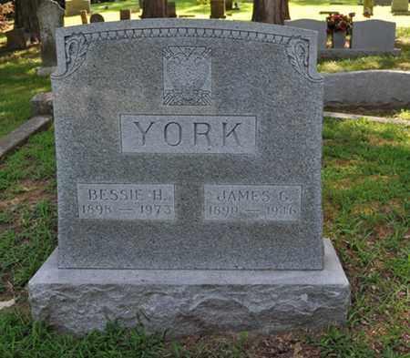 YORK, JAMES G. - Fayette County, Tennessee   JAMES G. YORK - Tennessee Gravestone Photos