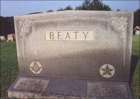 CHOATE BEATY, REBECCA JANE - Fentress County, Tennessee   REBECCA JANE CHOATE BEATY - Tennessee Gravestone Photos
