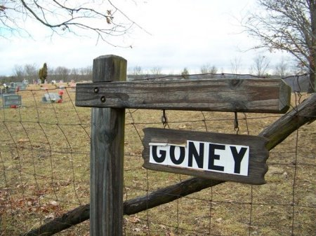 *GONEY SIGN,   - Fentress County, Tennessee |   *GONEY SIGN - Tennessee Gravestone Photos