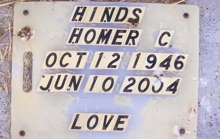 HINDS, HOMER COLUMBUS - Fentress County, Tennessee | HOMER COLUMBUS HINDS - Tennessee Gravestone Photos