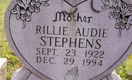 STEPHENS, RILLIE AUDIE - Fentress County, Tennessee | RILLIE AUDIE STEPHENS - Tennessee Gravestone Photos