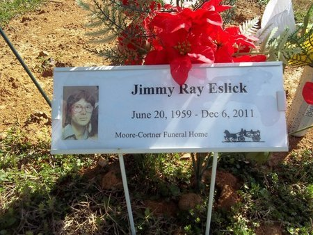 ESLICK, JIMMY RAY - Franklin County, Tennessee | JIMMY RAY ESLICK - Tennessee Gravestone Photos