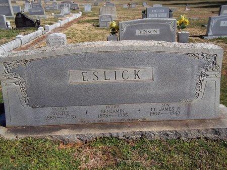 ESLICK, BENJAMIN NEWTON - Franklin County, Tennessee | BENJAMIN NEWTON ESLICK - Tennessee Gravestone Photos