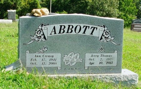ABBOTT, JERRY THOMAS - Gibson County, Tennessee | JERRY THOMAS ABBOTT - Tennessee Gravestone Photos