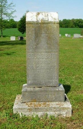 ABBOTT, ED - Gibson County, Tennessee   ED ABBOTT - Tennessee Gravestone Photos