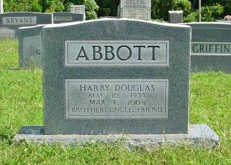 ABBOTT, HARRY DOUGLAS - Gibson County, Tennessee | HARRY DOUGLAS ABBOTT - Tennessee Gravestone Photos