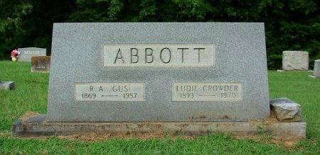 ABBOTT, LUDIE - Gibson County, Tennessee | LUDIE ABBOTT - Tennessee Gravestone Photos
