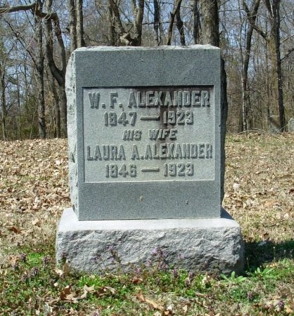 ALEXANDER, WINSLOW F. - Gibson County, Tennessee | WINSLOW F. ALEXANDER - Tennessee Gravestone Photos