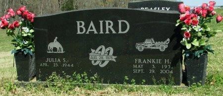 BAIRD, FRANKIE H. - Gibson County, Tennessee | FRANKIE H. BAIRD - Tennessee Gravestone Photos