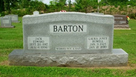 HOWELL BARTIB, LAURA JOYCE - Gibson County, Tennessee | LAURA JOYCE HOWELL BARTIB - Tennessee Gravestone Photos