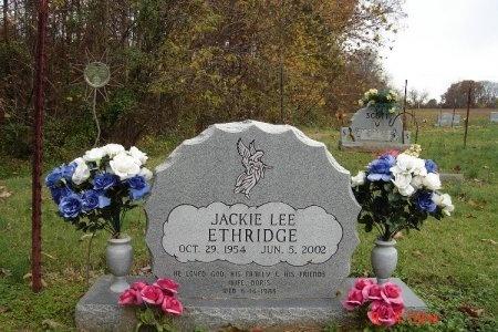 ETHRIDGE, JACKIE LEE - Gibson County, Tennessee   JACKIE LEE ETHRIDGE - Tennessee Gravestone Photos