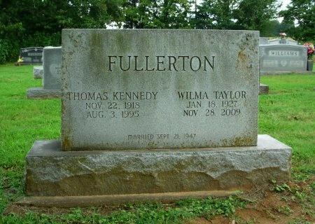 FULLERTON, THOMAS KENNEDY - Gibson County, Tennessee | THOMAS KENNEDY FULLERTON - Tennessee Gravestone Photos