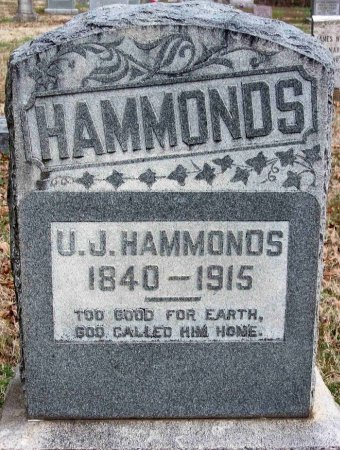 HAMMONDS, IRIAH JASPER - Gibson County, Tennessee | IRIAH JASPER HAMMONDS - Tennessee Gravestone Photos