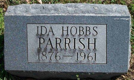 PARRISH, IDA BELLE - Gibson County, Tennessee | IDA BELLE PARRISH - Tennessee Gravestone Photos