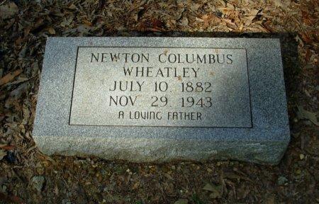 WHEATLEY, NEWTON COLUMBUS - Gibson County, Tennessee   NEWTON COLUMBUS WHEATLEY - Tennessee Gravestone Photos